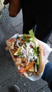 Tasty kebab!